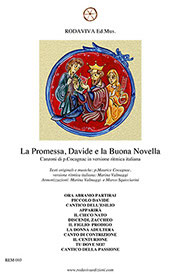 La promessa, Davide e Buona Novella - spartito
