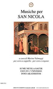 Musiche per San Nicola - spartito