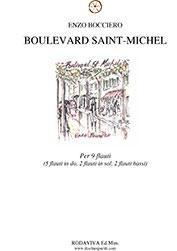 Boulevard Saint-Michel - spartito