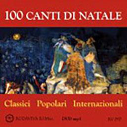 100 CANTI DI NATALE - DVD MP3