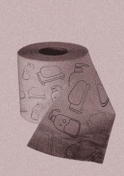 """Druck/Art Print """"Von der Rolle - Seifenrot"""""""
