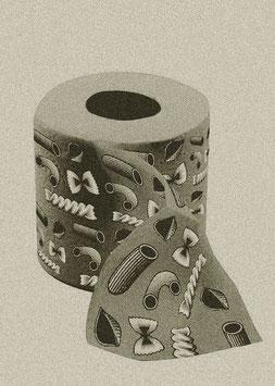 """Druck/Art Print """"Von der Rolle - Nudelgold"""""""