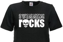 "T-Shirt "" Swimming Rocks"""