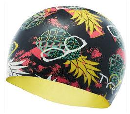 TYR Pineapple Swimcap