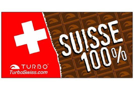 TURBO 100% Swiss Chocolat Microfaser Duschtuch