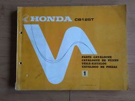 Honda CB 125 T - Parts- List