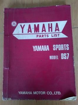Yamaha Sports DS 7 - Parts-List