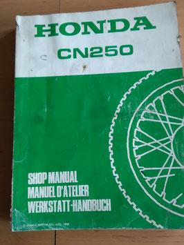 Honda CN 250 Helix - Werkstatt-Handbuch