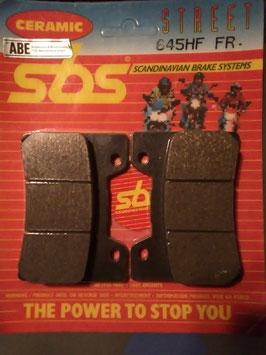 SBS– Bremsbeläge  645 HF FR