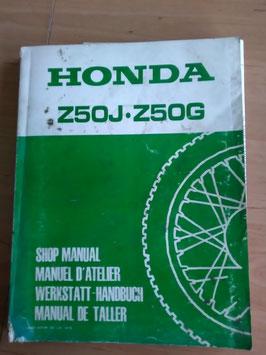 Honda Z 50J ● Z 50 G- Werkstatt-Handbuch im Paket