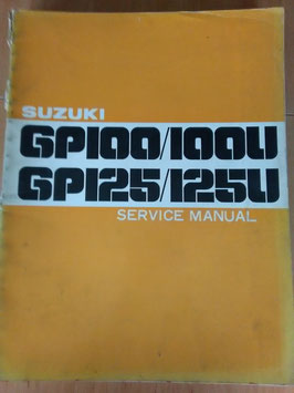 Suzuki GP 100/U - 125/ U - Service Manual