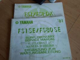 Yamaha FS 1 / FS 1-DX- Ergänzung zur Wartungsanleitung im Paket