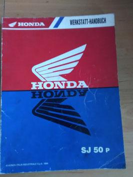 Honda SJ 50 - Werkstatt-Handbuch+Zusatz im Paket