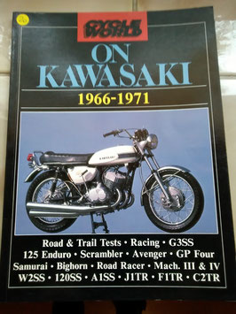 Kawasaki , die Geschichte von 1966-1971