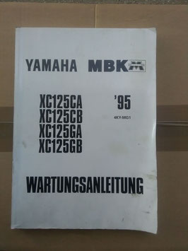 Yamaha – MBK XC 125- (1995)-Wartungsanleitung