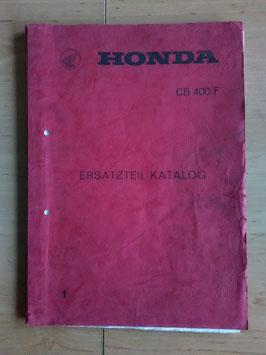 Honda CB 400 F - Ersatzteile-Katalog