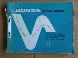 Honda CB 50 J / F -  Parts- List - Ersatzteile-Katalog