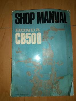 Honda CB 500 Four - originales Werkstatt-Handbuch
