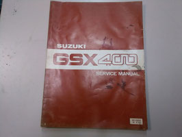GSX 400 - Handbuch