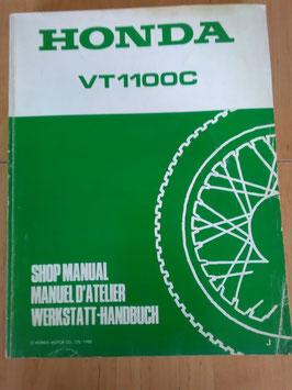 Honda VT 1100 C -  Werkstatt - Handbuch im Paket