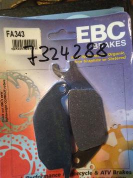 EBC- Bremsbeläg FA 343
