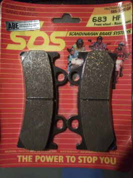 SBS– Bremsbeläge  683 HF