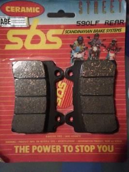 SBS– Bremsbeläge 590 LF Rear