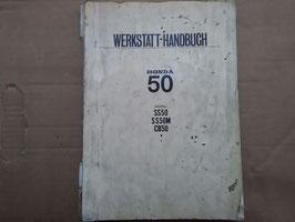 Honda SS 50 -Oldtimer Werkstatt-Handbuch - Rarität da in Deutsch