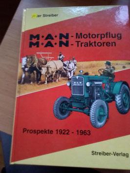 MAN - Motorpflug / MAN -Traktoren