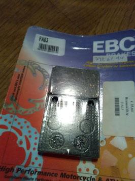 EBC FA 63 - Bremsbeläge in OVP