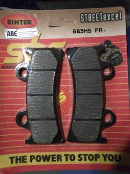 SBS– Bremsbeläge  683 HS FR