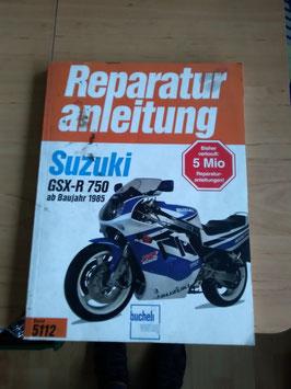 Suzuki GSXR 750 - originale Reperaturanleitung