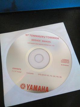 Yamaha Werkstatthandbücher auf CD (original) - '07 TDM 900