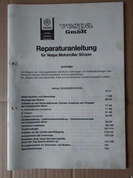 Reparaturanleitung – Vespa/ Piaggo