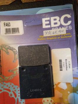 EBC- Bremsbeläg FA 63