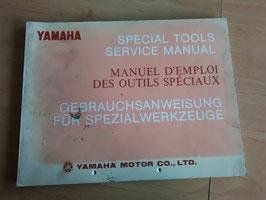 Yamaha - Gebrauchsanweisung für Spezialwerkzeug - für alle Modellen