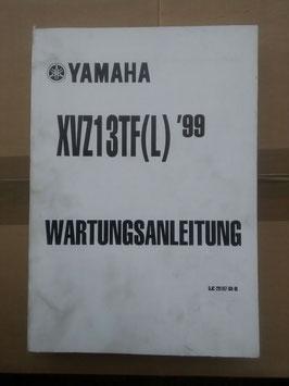 XVZ 13 TF (L) 1999 -Wartungsanleitung