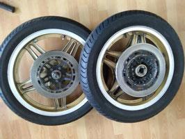 Honda CB 900 Bol de'or - ein Paar originale Räder