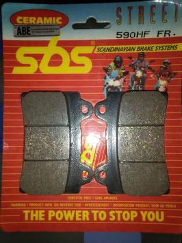 SBS- Bremsbeläge  590HF FR