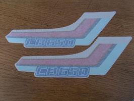 Honda CB 650 - originaler  Aufkleber