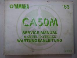Yamaha CA 50 M- Wartungsanleitung