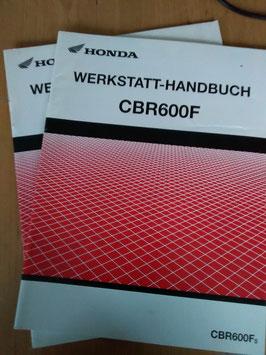 Honda CB 900 F - Werkstatt-Handbuch-Zusatz im Paket
