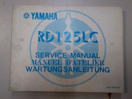 Yamaha RD 125 LC - Wartungsanleitung