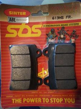 SBS– Bremsbeläge 613 HS FR
