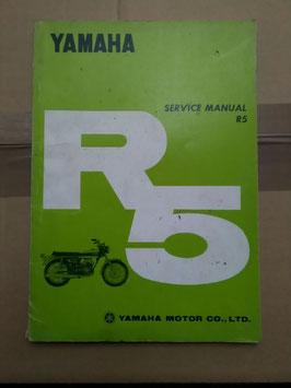 Yamaha R5 - Betriebsanleitung