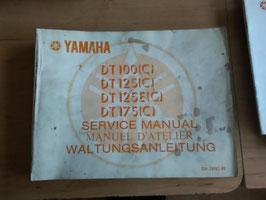Yamaha DT 100 - 175  - Wartungsanleitung