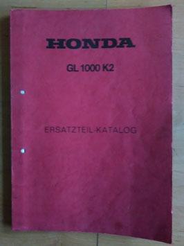Honda GL 1000 K2- Ersatzteile-Katalog
