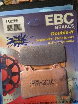 EBC- Bremsbeläge FA 123 HH