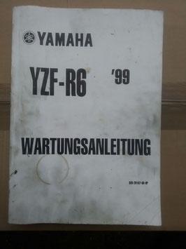 YZF – R6 – Wartungsanleitung
