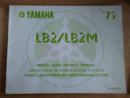 Yamaha LB 2 / LB 2 M - Wartungsanleitung
